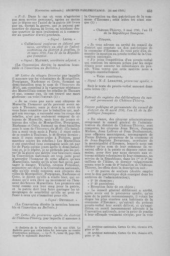 Tome 64 : Du 2 au 16 mai 1793 - page 653