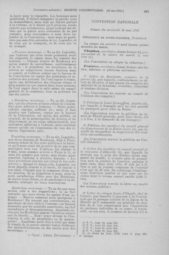 Tome 64 : Du 2 au 16 mai 1793 - page 681