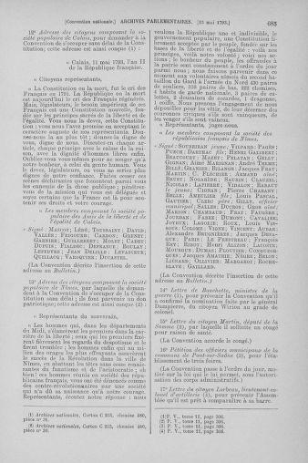 Tome 64 : Du 2 au 16 mai 1793 - page 685