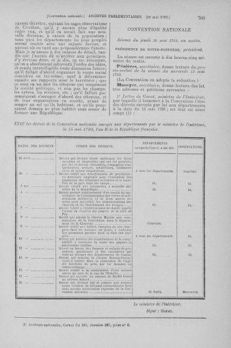 Tome 64 : Du 2 au 16 mai 1793 - page 703