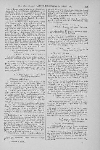 Tome 64 : Du 2 au 16 mai 1793 - page 705
