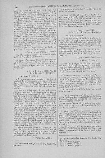 Tome 64 : Du 2 au 16 mai 1793 - page 706