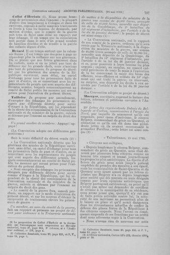 Tome 64 : Du 2 au 16 mai 1793 - page 707