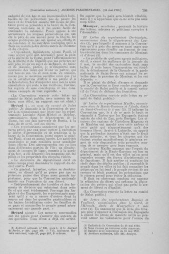 Tome 64 : Du 2 au 16 mai 1793 - page 709