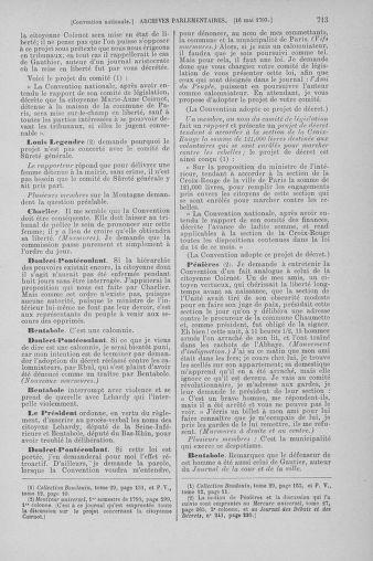 Tome 64 : Du 2 au 16 mai 1793 - page 713