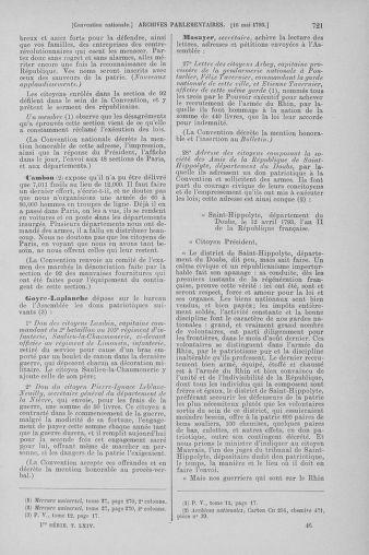 Tome 64 : Du 2 au 16 mai 1793 - page 721