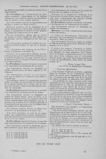 Tome 64 : Du 2 au 16 mai 1793 - page 769