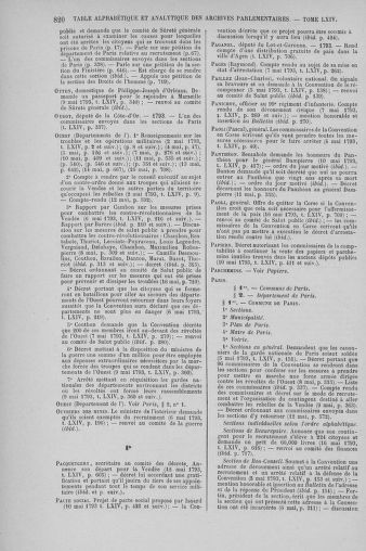 Tome 64 : Du 2 au 16 mai 1793 - page 820