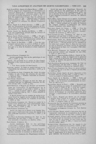 Tome 64 : Du 2 au 16 mai 1793 - page 825