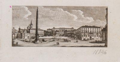 Piazza del Popolo vista verso il Pincio