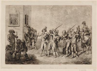 La  Retirade des François [estampe]
