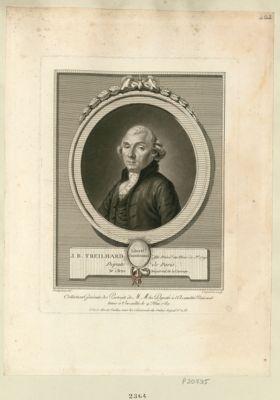 J.B. Treilhard élu présid.t au mois de j.et <em>1790</em> député de Paris, né à Brive départem.t de la Correze : [estampe]