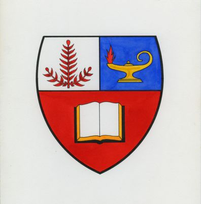 Stanford University. School of Education. Coat of Arms