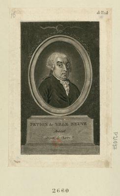 Pétion de Villeneuve avocat, député de Chartre : [estampe]