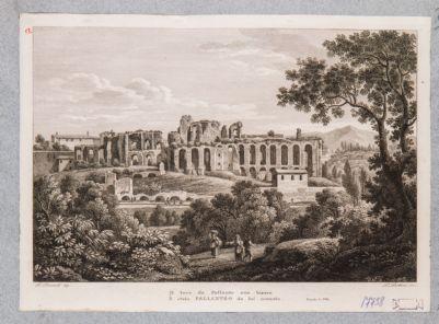 Palatino, resti della Domus Severiana verso il Circo Massimo