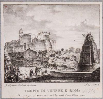 Tempio di Venere e Roma, veduta generale