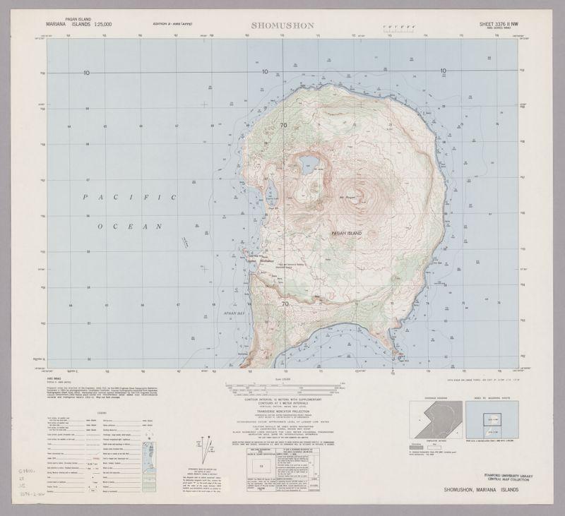 Mariana Islands 1:25,000