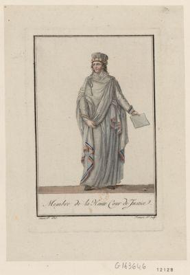 Membre de la Haute Cour de justice [estampe]