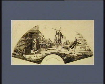 Apparition d'une comete a Paris le 18 janvier 1798 [estampe]
