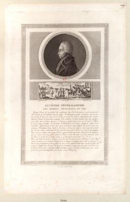 Luckner généralissime des armées françaises, en <em>1792</em> [estampe]