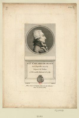 G.el J.ph X.er Ricard de Sealt né à Peyrolles en 1754 député de Toulon à l'Assemblée nationale de 1789 : [estampe]