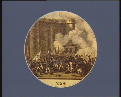 N.o 24 14 dito. La mort de Delaunay gouverneur de la Bastille... : [estampe]