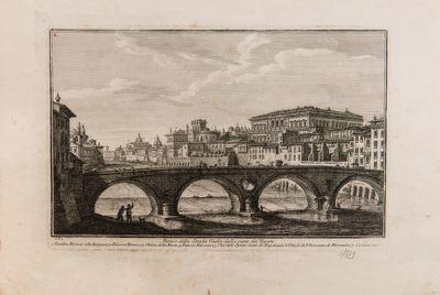 Ponte Sisto, veduta generale da mezzogiorno