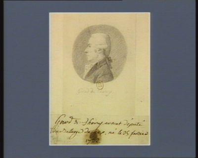 Girod de Thoiry avocat député du bailliage de Gex né le 25 février 1732 : [dessin]