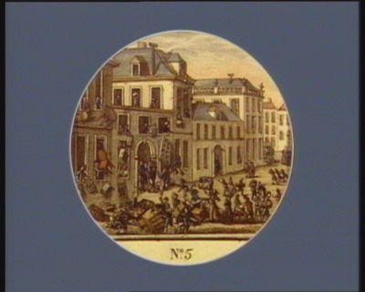 N.o 5 27 [i.e. 28] avril 1789. Pillage de la maison et atteliers du s.r Reveillon... : [estampe]