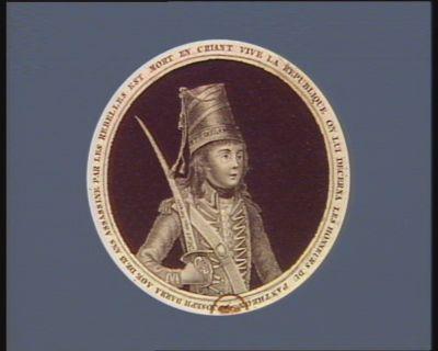 Joseph, Barra assassiné par les rebelles à la Vendée 2.me année de la République française [estampe]