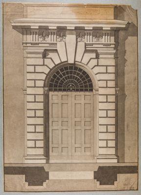 Palazzo Farnese, portone principale