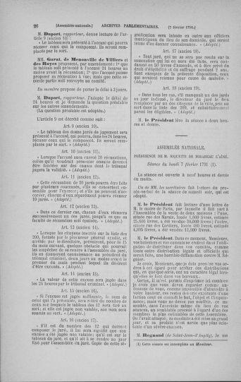 Tome 23 : Du 6 février au 9 mars 1791 - page 26
