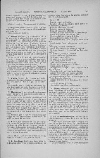 Tome 23 : Du 6 février au 9 mars 1791 - page 27