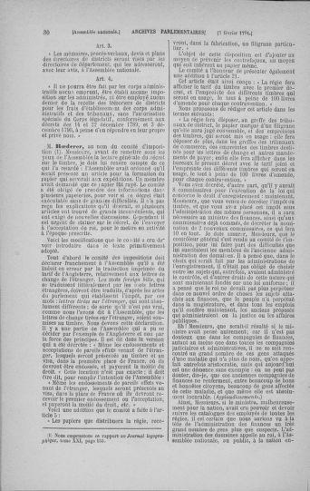 Tome 23 : Du 6 février au 9 mars 1791 - page 30