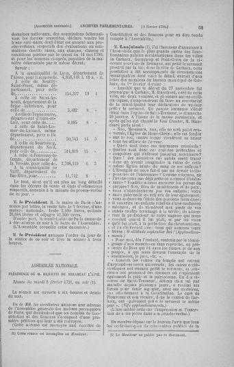 Tome 23 : Du 6 février au 9 mars 1791 - page 51