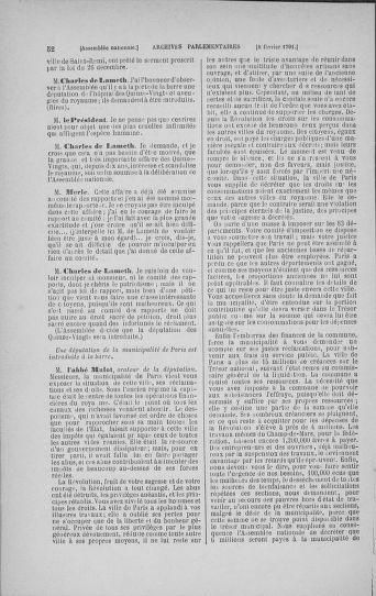 Tome 23 : Du 6 février au 9 mars 1791 - page 52