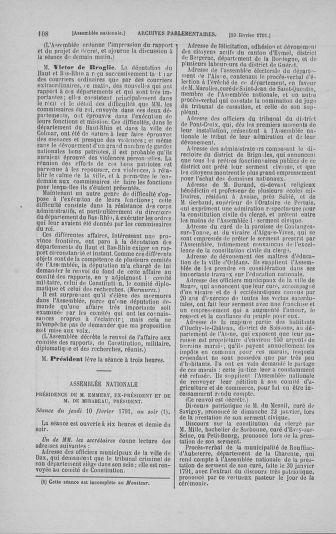 Tome 23 : Du 6 février au 9 mars 1791 - page 108