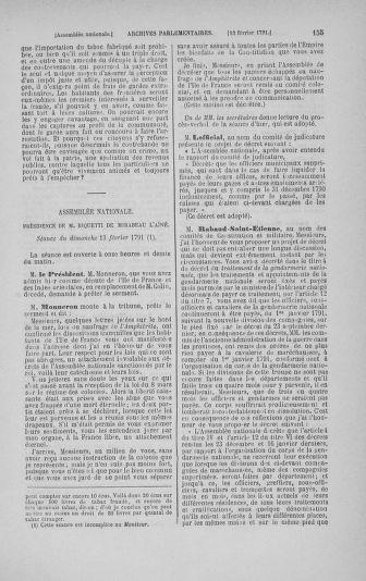 Tome 23 : Du 6 février au 9 mars 1791 - page 155