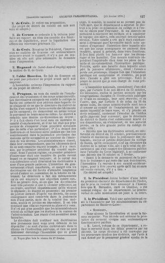 Tome 23 : Du 6 février au 9 mars 1791 - page 157