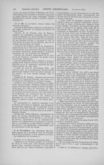 Tome 23 : Du 6 février au 9 mars 1791 - page 180