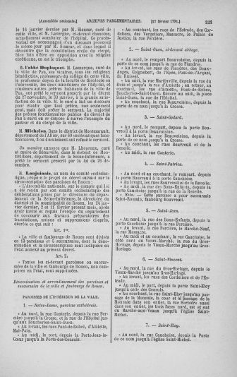 Tome 23 : Du 6 février au 9 mars 1791 - page 221