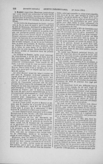 Tome 23 : Du 6 février au 9 mars 1791 - page 232