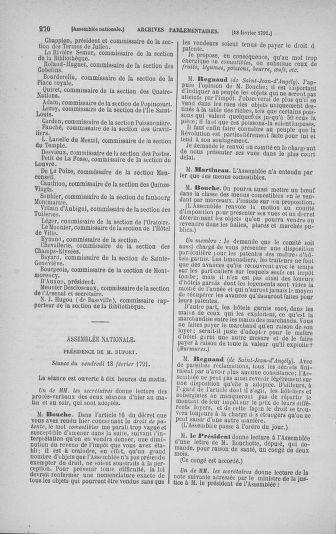 Tome 23 : Du 6 février au 9 mars 1791 - page 270