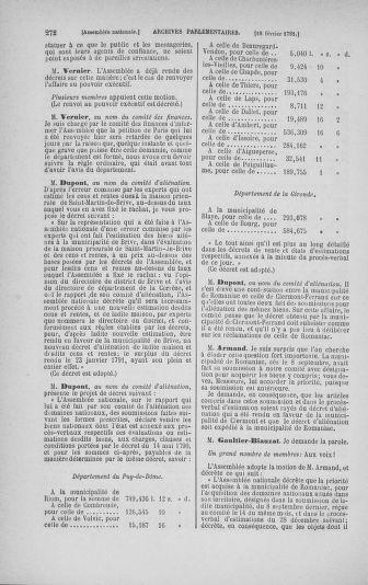 Tome 23 : Du 6 février au 9 mars 1791 - page 272