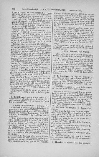 Tome 23 : Du 6 février au 9 mars 1791 - page 280