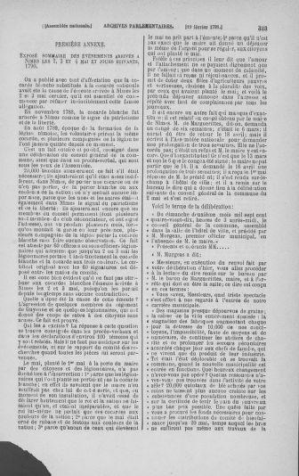 Tome 23 : Du 6 février au 9 mars 1791 - page 323