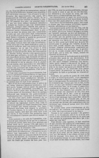 Tome 23 : Du 6 février au 9 mars 1791 - page 367