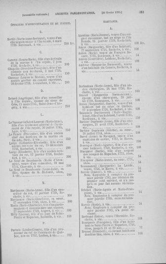 Tome 23 : Du 6 février au 9 mars 1791 - page 383