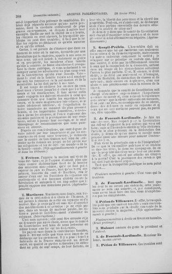 Tome 23 : Du 6 février au 9 mars 1791 - page 388