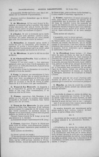 Tome 23 : Du 6 février au 9 mars 1791 - page 392